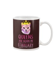 February Queens Cat Are Born In  Mug thumbnail
