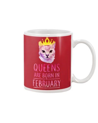February Queens Cat Are Born In
