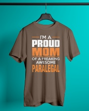 PROUD MOM - PARALEGAL Classic T-Shirt lifestyle-mens-crewneck-front-3