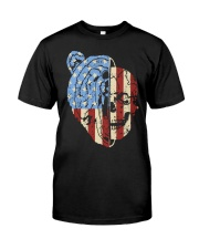 patriotic bear Classic T-Shirt tile