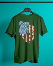 patriotic bear Classic T-Shirt lifestyle-mens-crewneck-front-3
