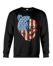 patriotic bear Crewneck Sweatshirt thumbnail