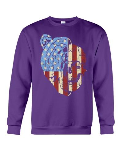 patriotic bear