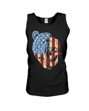patriotic bear Unisex Tank thumbnail