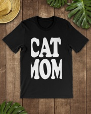 CAT MOM TANK TOPS MOTHERS DAY CATS TEE 1 Classic T-Shirt lifestyle-mens-crewneck-front-18