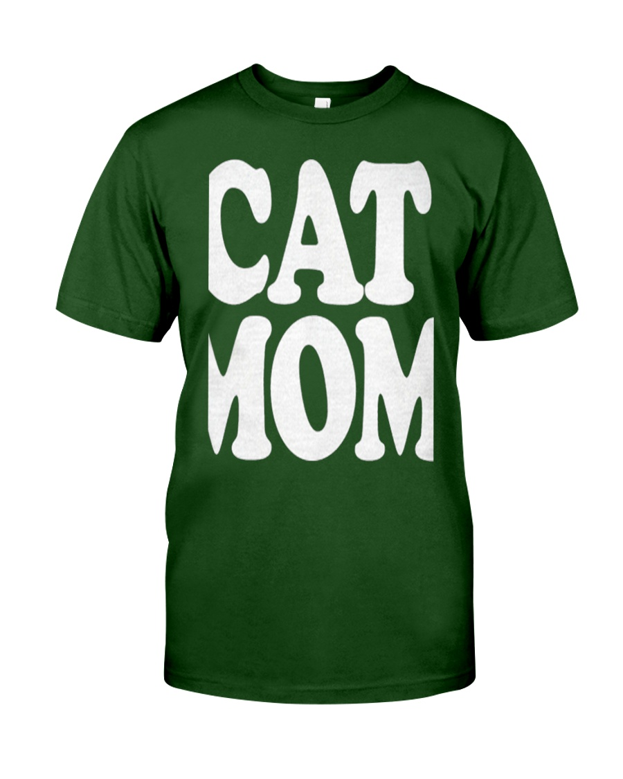 CAT MOM TANK TOPS MOTHERS DAY CATS TEE 1 Classic T-Shirt