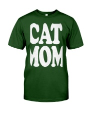 CAT MOM TANK TOPS MOTHERS DAY CATS TEE 1 Classic T-Shirt front