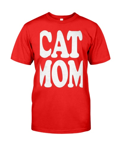 CAT MOM TANK TOPS MOTHERS DAY CATS TEE 1
