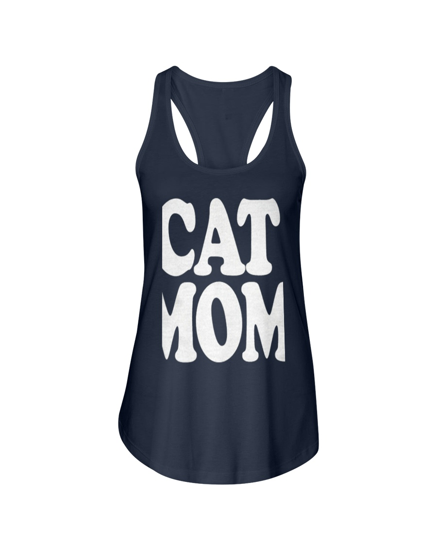 CAT MOM TANK TOPS MOTHERS DAY CATS TEE 1 Ladies Flowy Tank