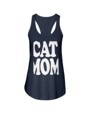 CAT MOM TANK TOPS MOTHERS DAY CATS TEE 1 Ladies Flowy Tank front