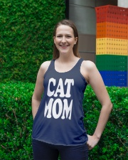 CAT MOM TANK TOPS MOTHERS DAY CATS TEE 1 Ladies Flowy Tank lifestyle-bellaflowy-tank-front-2