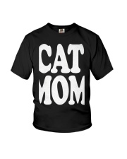 CAT MOM TANK TOPS MOTHERS DAY CATS TEE 1 Youth T-Shirt thumbnail