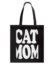 CAT MOM TANK TOPS MOTHERS DAY CATS TEE 1 Tote Bag thumbnail