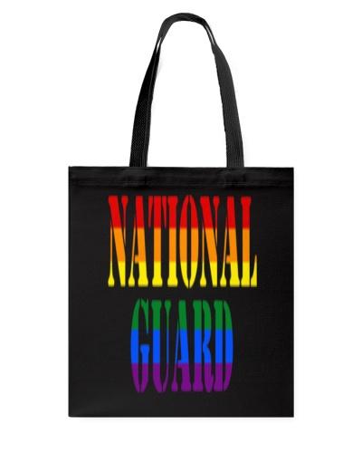 NATIONAL GUARD RAINBOW LGBT PRIDE MILITA