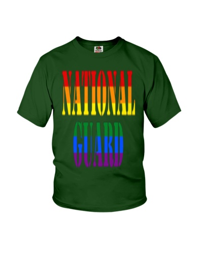 NATIONAL GUARD RAINBOW LGBT PRIDE MILITA
