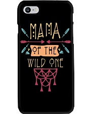 Mama Of The Wild One Mothers Day T-Shirt Phone Case thumbnail