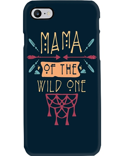 Mama Of The Wild One Mothers Day T-Shirt