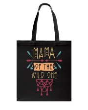 Mama Of The Wild One Mothers Day T-Shirt Tote Bag thumbnail