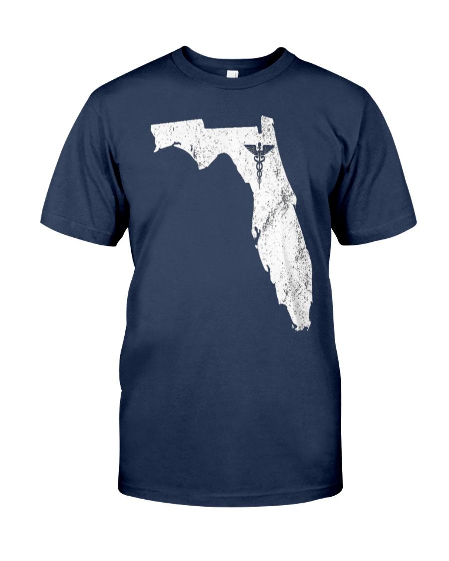 Nurse Graduation Florida CNA NP RN Classic T-Shirt