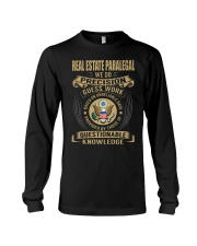 Real Estate Paralegal Long Sleeve Tee tile