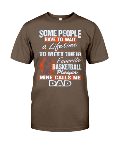 BASKETBALL DAD - FATHERS DAY GIFT T-SHIR