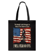 Patriotic fear no Evil Tote Bag thumbnail