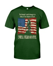 Patriotic fear no Evil Classic T-Shirt front