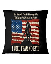 Patriotic fear no Evil Square Pillowcase thumbnail