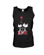 Love Cat  Unisex Tank thumbnail