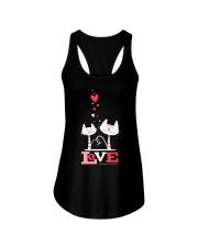 Love Cat  Ladies Flowy Tank thumbnail