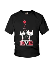 Love Cat  Youth T-Shirt tile