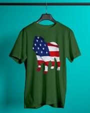 Patriotic Bulldog Classic T-Shirt lifestyle-mens-crewneck-front-3