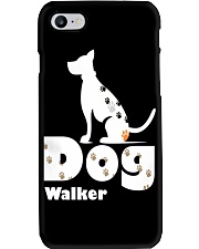 Dog Walker T Shirt for Dog Lover Phone Case thumbnail