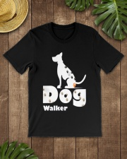 Dog Walker T Shirt for Dog Lover Classic T-Shirt lifestyle-mens-crewneck-front-18