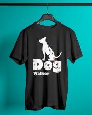 Dog Walker T Shirt for Dog Lover Classic T-Shirt lifestyle-mens-crewneck-front-3