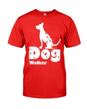 Dog Walker T Shirt for Dog Lover Classic T-Shirt front