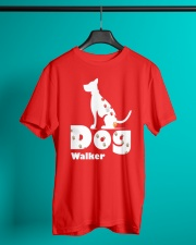 Dog Walker T Shirt for Dog Lover Classic T-Shirt lifestyle-mens-crewneck-front-3
