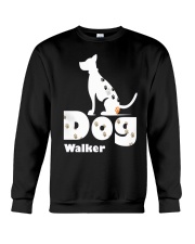 Dog Walker T Shirt for Dog Lover Crewneck Sweatshirt thumbnail