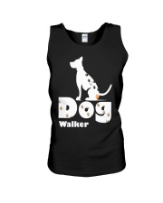 Dog Walker T Shirt for Dog Lover Unisex Tank thumbnail