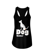 Dog Walker T Shirt for Dog Lover Ladies Flowy Tank thumbnail