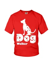 Dog Walker T Shirt for Dog Lover Youth T-Shirt front