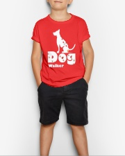 Dog Walker T Shirt for Dog Lover Youth T-Shirt lifestyle-youth-tshirt-front-1