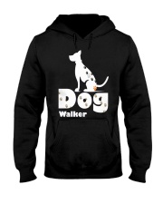 Dog Walker T Shirt for Dog Lover Hooded Sweatshirt thumbnail