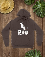 Dog Walker T Shirt for Dog Lover Hooded Sweatshirt lifestyle-unisex-hoodie-front-7
