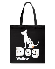 Dog Walker T Shirt for Dog Lover Tote Bag thumbnail