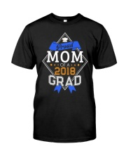 PROUD MOM OF A 2018 GRADUATE GRADUATION Classic T-Shirt tile