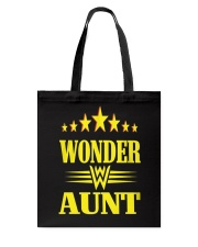 Wonder Aunt Mothers Day Grandmother Shirts Tote Bag thumbnail