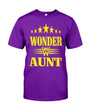 Wonder Aunt Mothers Day Grandmother Shirts Classic T-Shirt front