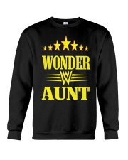Wonder Aunt Mothers Day Grandmother Shirts Crewneck Sweatshirt thumbnail