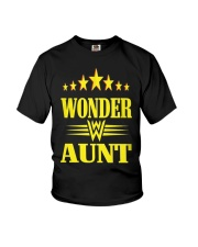 Wonder Aunt Mothers Day Grandmother Shirts Youth T-Shirt tile